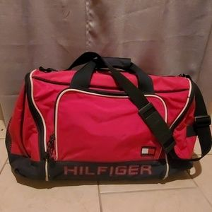 Gently used Tommy Hilfiger duffle bag
